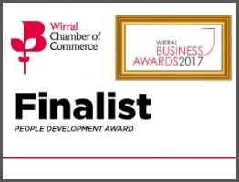 Wirral Business Awards Finalist 2017